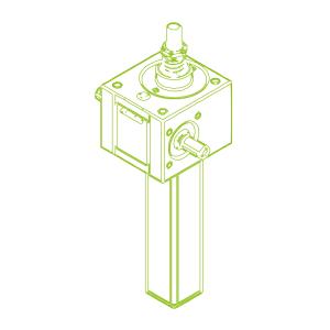GSZ S-Vite trapezoidale 10kN | 20x4