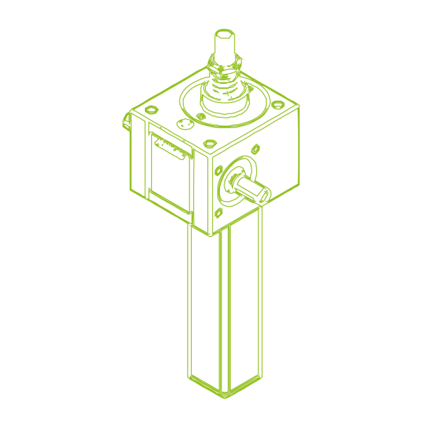 GSZ S-Vite trapezoidale 10kN   20x4