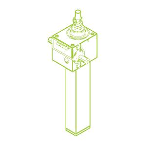 GSZ S-Vite trapezoidale 2,5kN | 16x4