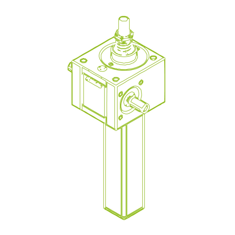 GSZ S-Vite trapezoidale 5kN | 18x4