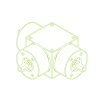 Rinvii angolari | KSZ-H-100-T | Rapporto di riduzione 2:1