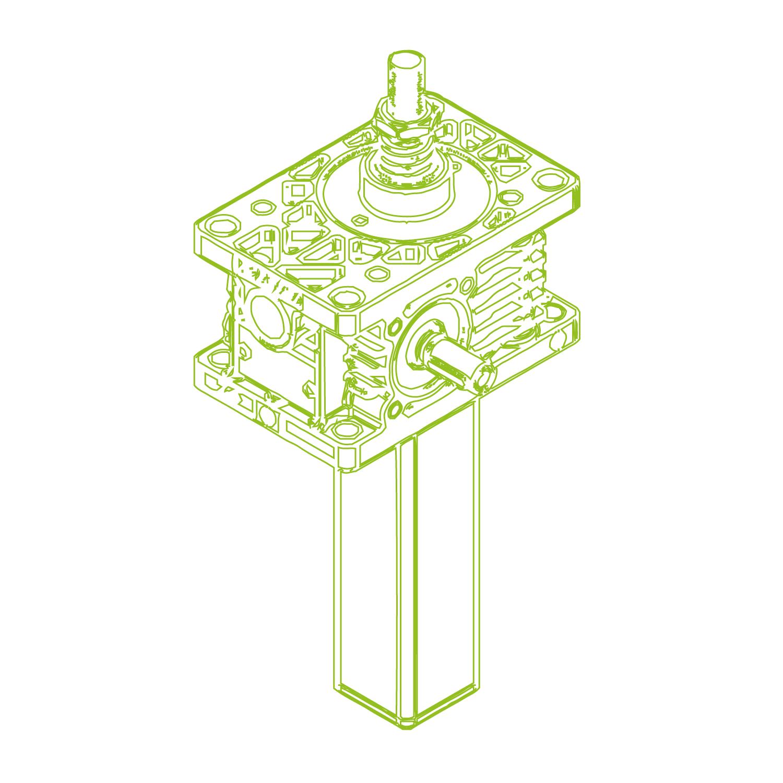 Z S-Vite trapezoidale 5kN | 18x4