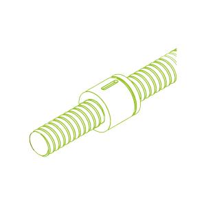 Vite a ricircolo di sfere con chiocciola cilindro KGT- Z