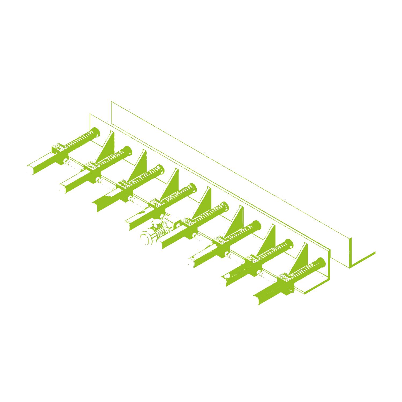 Adattamento delle casseforme in acciaio per le travi cementizie