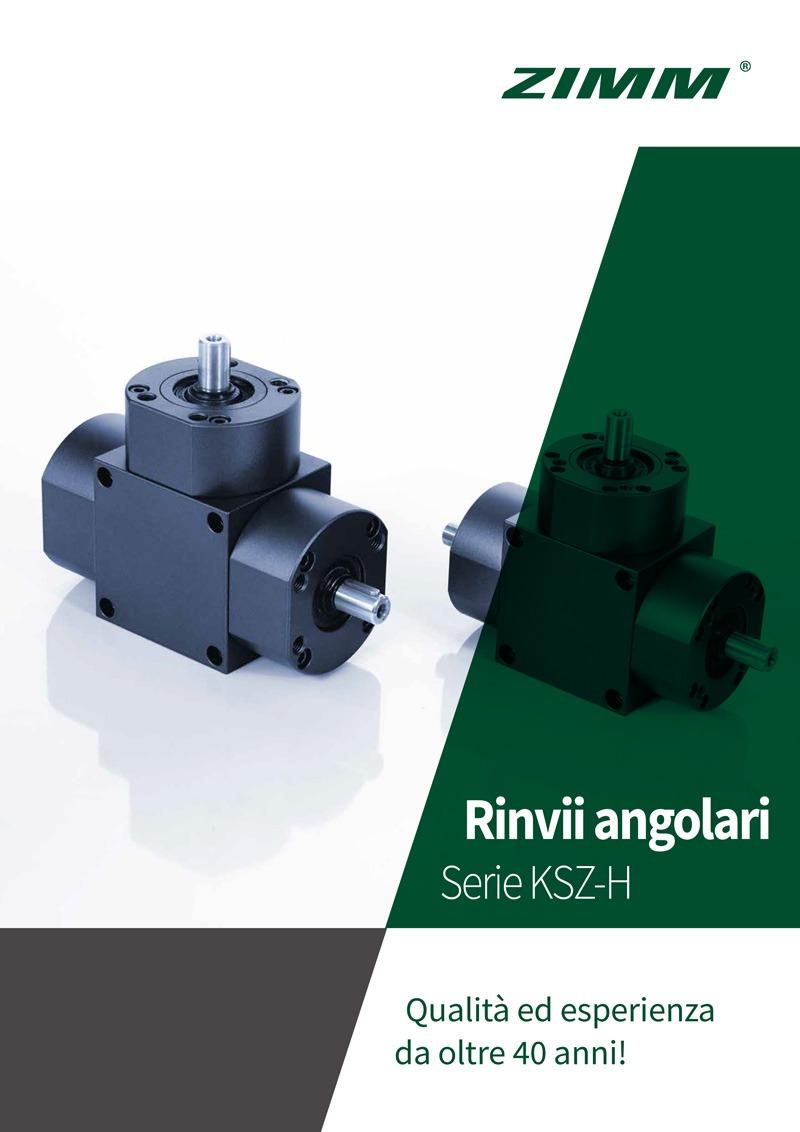 Rinvii angolari | KSZ-H | Depliant Italiano