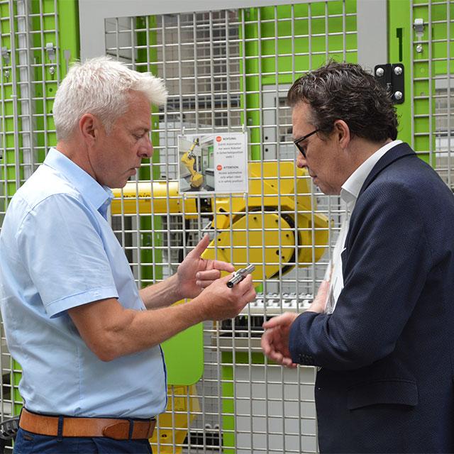 La Camera di Commercio del Vorarlberg (WKV) visita ZIMM